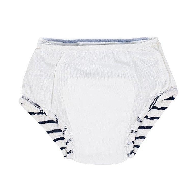Lassig Kostium do pływania jednocześciowy z wkładką chłonną Sailor navy UV 50+