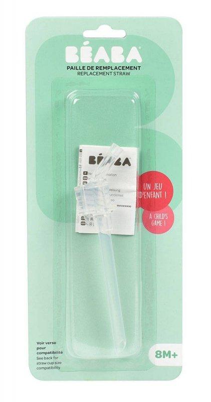 Beaba Wymienna słomka do butelki-bidonu 240 ml