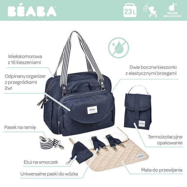 Beaba Torba dla mamy Geneva II blue marine