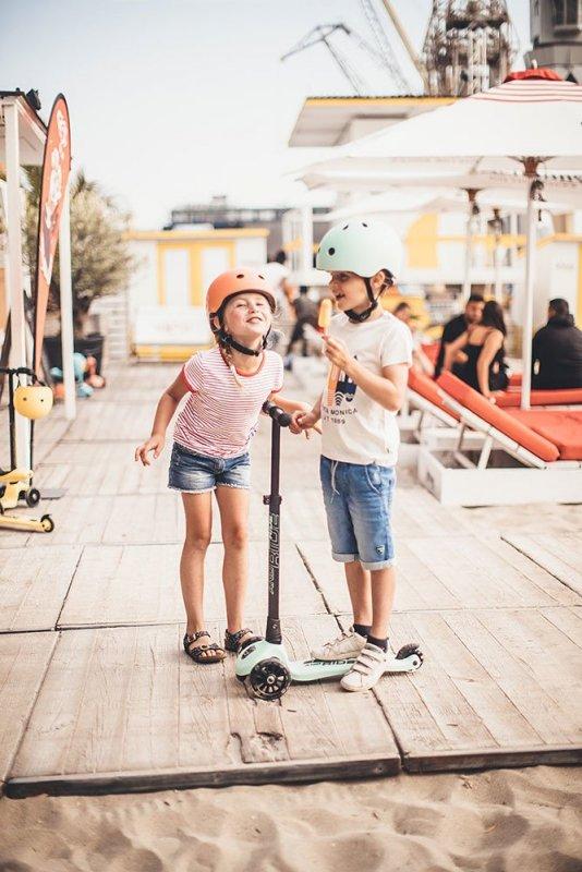SCOOTANDRIDE Kask S-M dla dzieci  3+ Kiwi