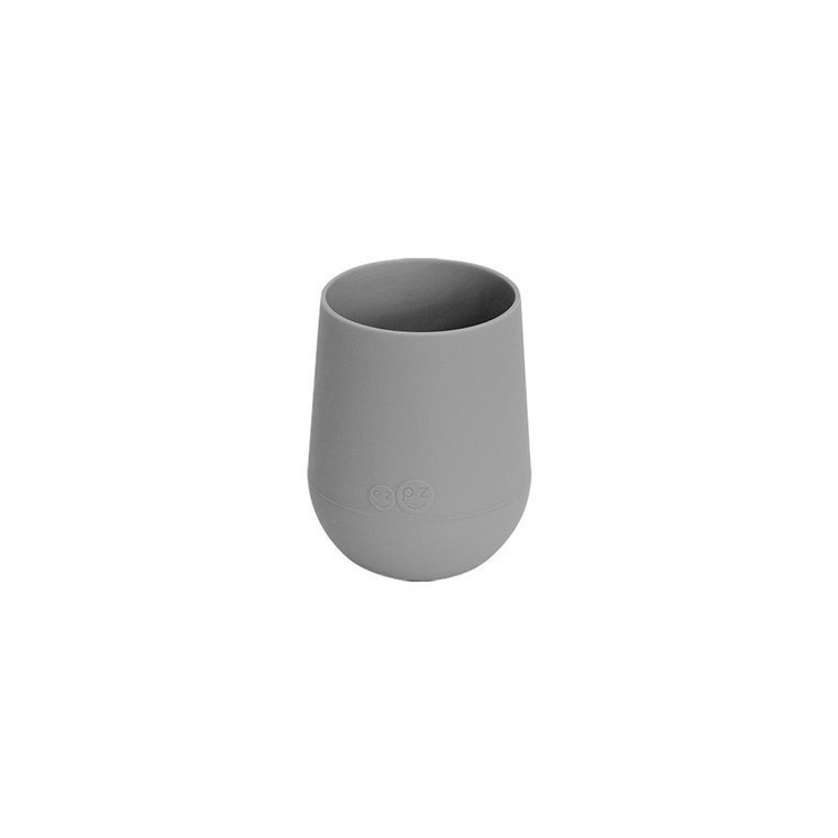 EZPZ Silikonowy kubeczek Mini Cup 120 ml szary