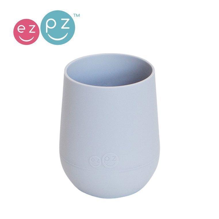 EZPZ Silikonowy kubeczek Mini Cup 120 ml pastelowa szarość