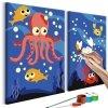 Obraz do samodzielnego malowania - Na dnie oceanu