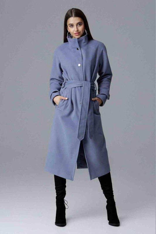 Płaszcz M624 Niebieski