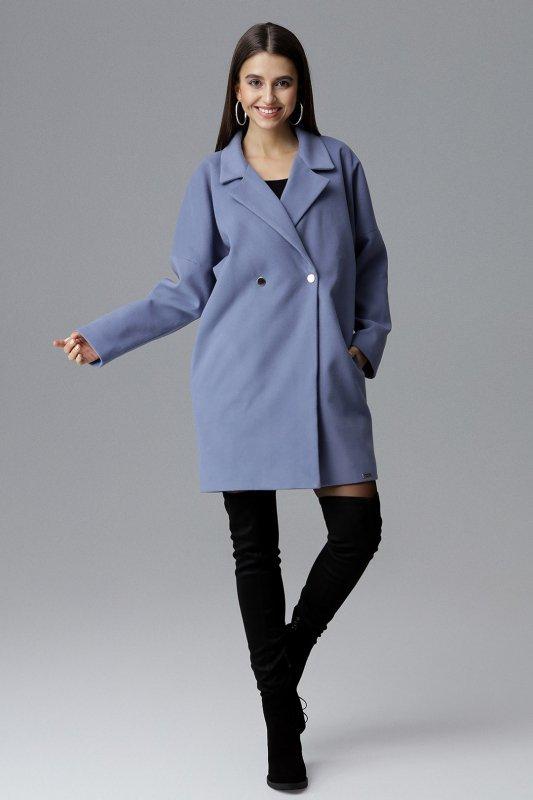 Płaszcz M625 Niebieski