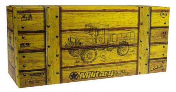 Samochód RC wojskowy leśny
