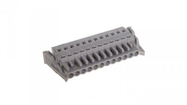 Gniazdo MCS-MIDI Classic 12-biegunowe szare raster 5mm 231-112/037-000