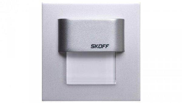 Oprawa LED 0.4W 10V IP20 TANGO MINI aluminium ciepło biała 02-01-02-01-0225