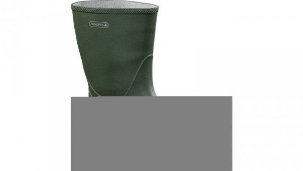 Obuwie robocze półwysokie zielone rozmiar 44 JAVO2VE44