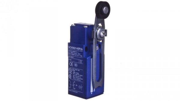 Wyłącznik krańcowy 1R/1Z migowy z rolką o regulowanej długości IP65 XCKN2145P20