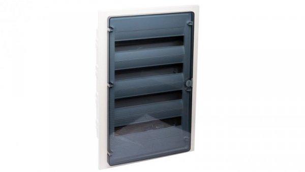 Rozdzielnica modułowa 4x18 podtynkowa IP40 Golf (drzwi transparentne) VF418TD