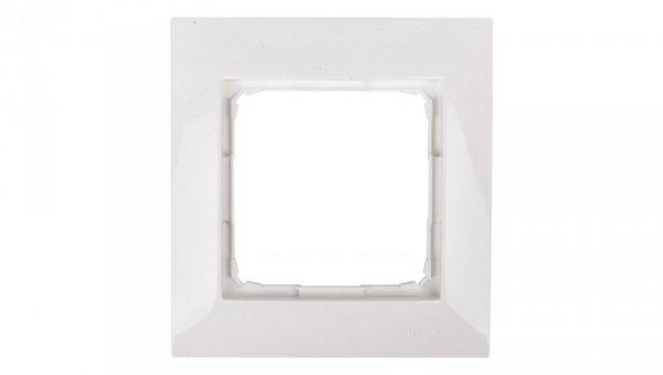 Simon 54 Premium Ramka pojedyncza biała /do karton-gips/ DRK1/11