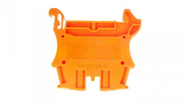 Złączka VIKING 1 tor 4mm2 pomarańczowa 037121