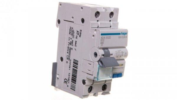 Wyłącznik różnicowo-nadprądowy 2P 32A B 0,03A typ A ADA932D