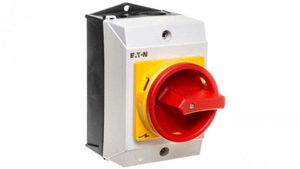 Łącznik krzywkowy 0-1 2P 20A w obudowie T0-1-8200/I1/SVB 207145