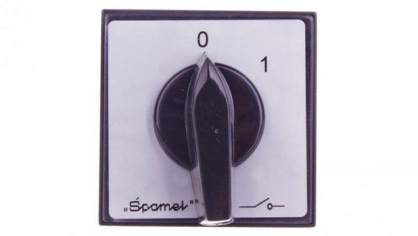 Łącznik krzywkowy 0-1 1P 16A do wbudowania ŁK15-1.825P03