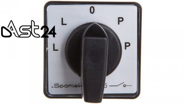 Łącznik krzywkowy Dahlandera nawrotny 3P 16A do wbudowania SK10-7.8538P03