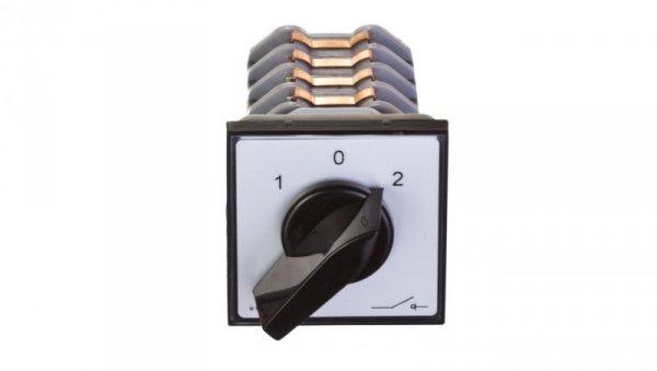 Łącznik krzywkowy sieć-agregat 4P 25A do wbudowania ŁK25R-4.8396P03
