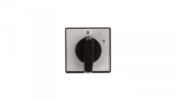 Łącznik krzywkowy 0-1 1P 10A do wbudowania 4G10-90-U 63-840390-011