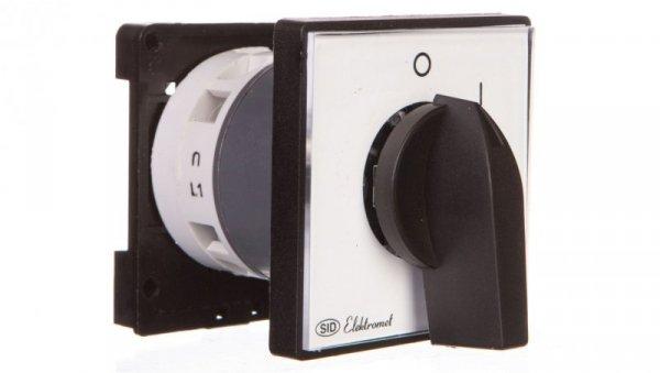 Łącznik krzywkowy 0-I 1P 25A na szynę IP65 Łuk E25-54 952554
