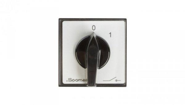 Łącznik krzywkowy 0-1 3P 25A do wbudowania ŁK25R-2.8211P03