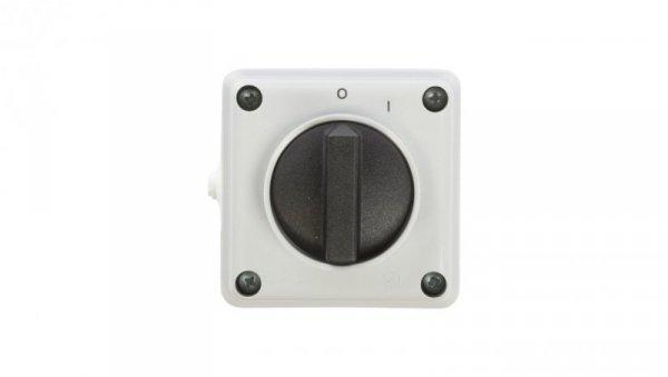 Łącznik krzywkowy jednofazowy 0-I 12A IP44 Łuk E12-53 921256