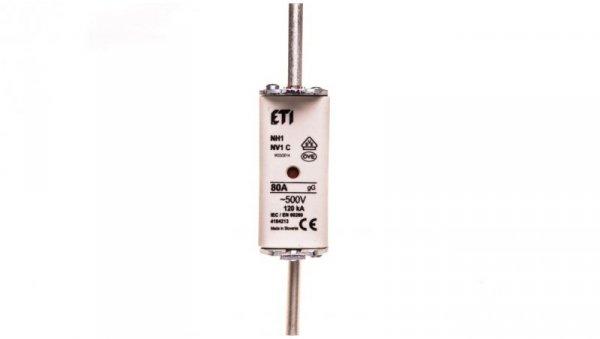 Wkładka bezpiecznikowa KOMBI NH1C 80A gG/gL 500V WT-1C 004184213