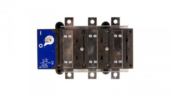 Rozłącznik izolacyjny 3P 630A RA 630 P3 63-811593-021
