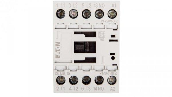 Stycznik mocy 15A 3P 24V AC 1Z 0R DILM15-10(24V50/60HZ) 290062