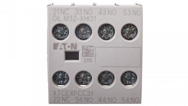 Styk pomocniczy 3Z 1R montaż czołowy DILM32-XHI31 106112