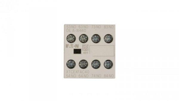 Styk pomocniczy 4Z montaż czołowy DILA-XHI40 276428