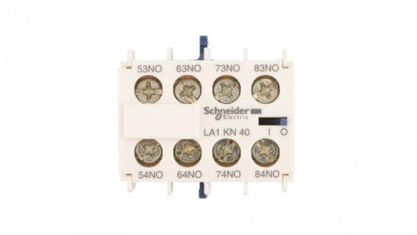Styk pomocniczy 4Z montaż czołowy LA1KN40