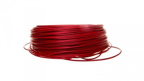 Przewód instalacyjny H05V-K 1 czerwony 4510043 /100m/