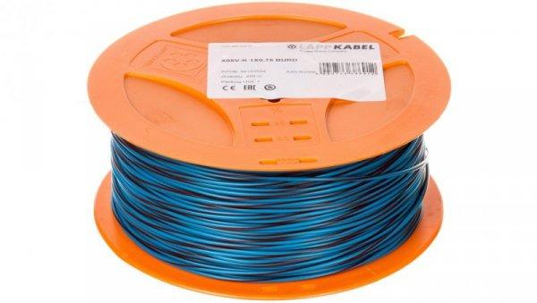 Przewód instalacyjny X05V-K 0,75 niebieski/czerwony 4512252S /250m/