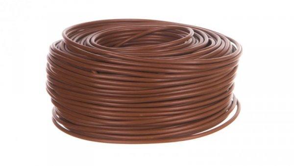 Przewód instalacyjny H07V-K 6 brązowy 4520034 /100m/