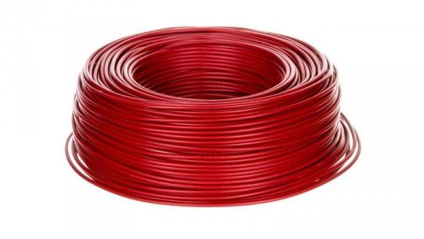 Przewód instalacyjny H07V-K 1,5 czerwony 29133 /100m/