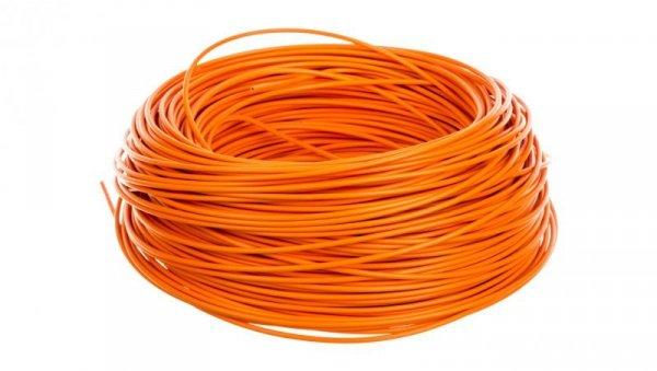 Przewód instalacyjny H05V-K 1 pomarańczowy 29126 /100m/