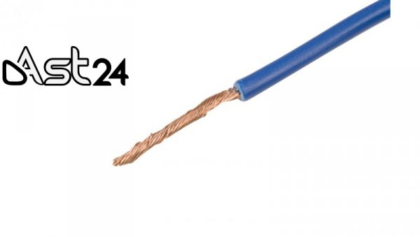 Przewód instalacyjny H05V-K 0,5 ciemnoniebieski 4510141 /100m/