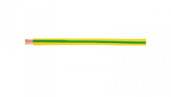 Przewód instalacyjny H07V-K (LgY) 10 żółto-zielony /100m/
