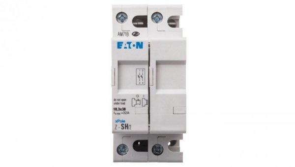Rozłącznik bezpiecznikowy cylindryczny 2P 10x38mm Z-SH/2 263878