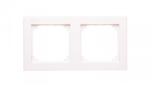 Merten M-Smart Ramka podwójna biel polarna MTN478219
