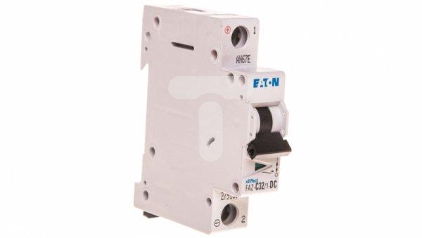 Wyłącznik nadprądowy 1P C 32A 15kA DC FAZ C32/1-DC 279131