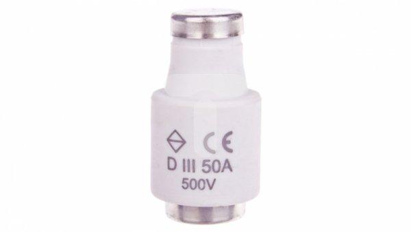 Wkładka bezpiecznikowa BiWts 50A DIII gF 500V LE33F50