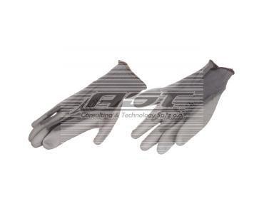 Rękawice High Tech do prac precyzyjnych szare rozmiar 8 VE702PG08