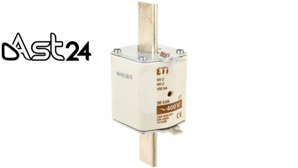 Wkładka bezpiecznikowa NH2 72A gTr 50kVA 400V WT-2 004114400