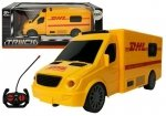 Auto zdalnie sterowane RC Kurier DHL dźwięk światła
