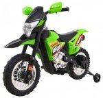 Motor na akumulator dla dzieci CROSS Zielony