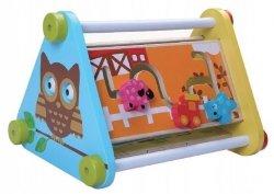 Drewniana kostka zabawka edukacyjna 5w1 Ecotoys