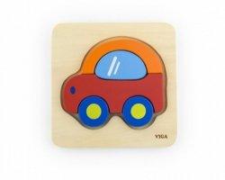 Pierwsze puzzle maluszka - samochód Viga