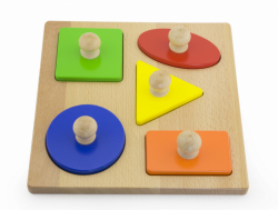 Stemple drewniane - kształty Viga